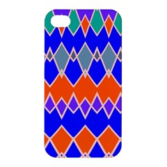 Rhombus Chains			apple Iphone 4/4s Premium Hardshell Case by LalyLauraFLM