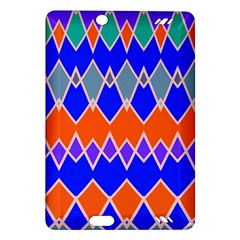 Rhombus Chainskindle Fire Hd (2013) Hardshell Case by LalyLauraFLM