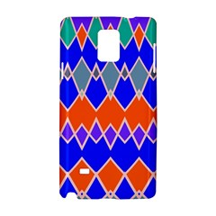 Rhombus Chains			samsung Galaxy Note 4 Hardshell Case by LalyLauraFLM