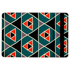 Triangles In Retro Colors Pattern			apple Ipad Air 2 Flip Case by LalyLauraFLM