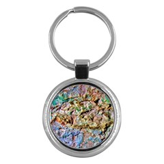 Abstract Background Wall 1 Key Chains (round)  by Costasonlineshop