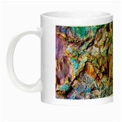 Abstract Background Wall 1 Night Luminous Mugs by Costasonlineshop