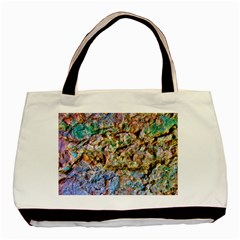 Abstract Background Wall 1 Basic Tote Bag  by Costasonlineshop