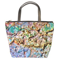 Abstract Background Wall 1 Bucket Bags by Costasonlineshop