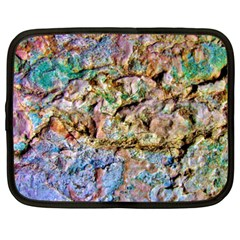 Abstract Background Wall 1 Netbook Case (xxl)