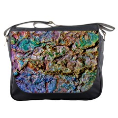 Abstract Background Wall 1 Messenger Bags