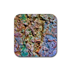 Abstract Background Wallpaper 1 Rubber Coaster (Square)  by Costasonlineshop