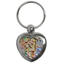 Abstract Background Wallpaper 1 Key Chains (heart)  by Costasonlineshop