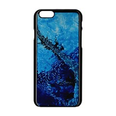 Rockscape Apple Iphone 6/6s Black Enamel Case by timelessartoncanvas
