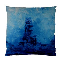 Lost At Sea Standard Cushion Case (one Side)  by timelessartoncanvas