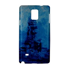 Lost At Sea Samsung Galaxy Note 4 Hardshell Case by timelessartoncanvas