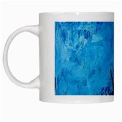 Waves White Mugs by timelessartoncanvas