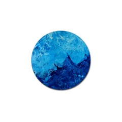 Waves Golf Ball Marker (4 Pack) by timelessartoncanvas