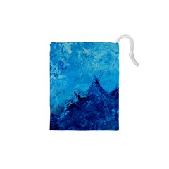 Waves Drawstring Pouches (XS)  by timelessartoncanvas