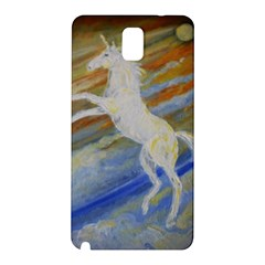 Unicorn In The Sky  Samsung Galaxy Note 3 N9005 Hardshell Back Case by JDDesigns