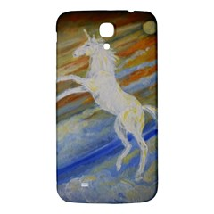 Unicorn In The Sky  Samsung Galaxy Mega I9200 Hardshell Back Case by JDDesigns
