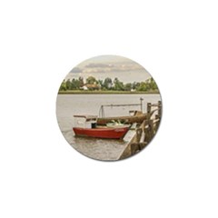 Santa Lucia River In Montevideo Uruguay Golf Ball Marker (10 Pack) by dflcprints