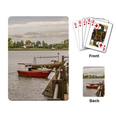 Santa Lucia River In Montevideo Uruguay Playing Card