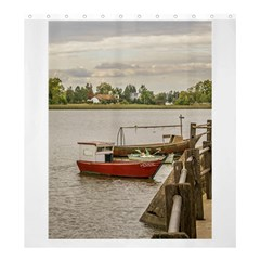 Santa Lucia River In Montevideo Uruguay Shower Curtain 66  X 72  (large)  by dflcprints