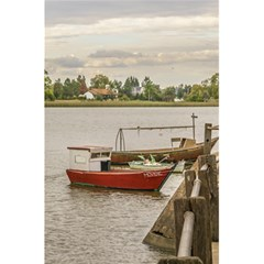 Santa Lucia River In Montevideo Uruguay 5 5  X 8 5  Notebooks by dflcprints