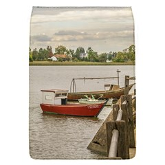 Santa Lucia River In Montevideo Uruguay Flap Covers (s)  by dflcprints