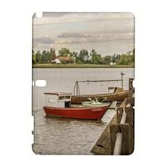 Santa Lucia River In Montevideo Uruguay Samsung Galaxy Note 10 1 (p600) Hardshell Case by dflcprints