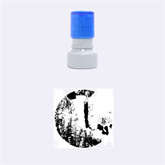 Yellowstone Waterfall Rubber Round Stamps (small)