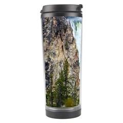 Yellowstone Waterfall Travel Tumblers by trendistuff