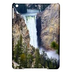Yellowstone Waterfall Ipad Air Hardshell Cases by trendistuff