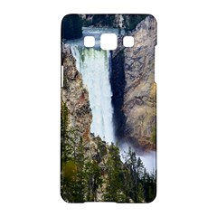 Yellowstone Waterfall Samsung Galaxy A5 Hardshell Case  by trendistuff