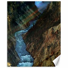 Yellowstone Lower Falls Canvas 16  X 20   by trendistuff