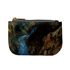 Yellowstone Lower Falls Mini Coin Purses by trendistuff
