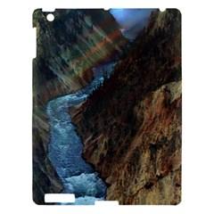 Yellowstone Lower Falls Apple Ipad 3/4 Hardshell Case by trendistuff