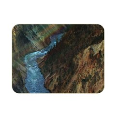 Yellowstone Lower Falls Double Sided Flano Blanket (mini)  by trendistuff