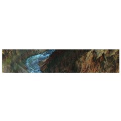 Yellowstone Lower Falls Flano Scarf (small)  by trendistuff