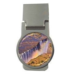 Waterfall Africa Zambia Money Clips (round)  by trendistuff