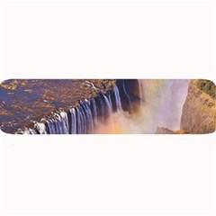 Waterfall Africa Zambia Large Bar Mats by trendistuff