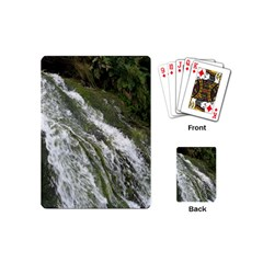 Water Overflow Playing Cards (mini)  by trendistuff