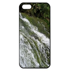 Water Overflow Apple Iphone 5 Seamless Case (black) by trendistuff