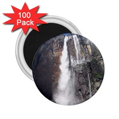 Salto Del Angel 2 25  Magnets (100 Pack)  by trendistuff