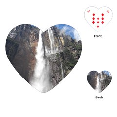 Salto Del Angel Playing Cards (heart)