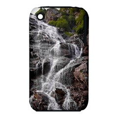 Mountain Waterfall Apple Iphone 3g/3gs Hardshell Case (pc+silicone) by trendistuff