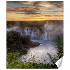 Iguazu Falls Canvas 20  X 24   by trendistuff