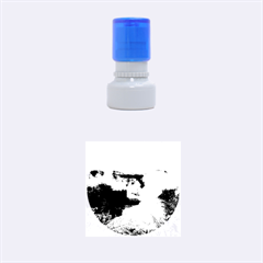 Iguazu Falls Rubber Round Stamps (small)