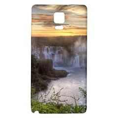 Iguazu Falls Galaxy Note 4 Back Case by trendistuff