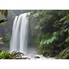 Hopetoun Falls Birthday Cake 3d Greeting Card (7x5)