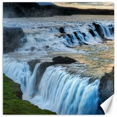 Gullfoss Waterfalls 2 Canvas 20  X 20   by trendistuff