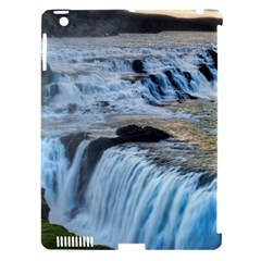 Gullfoss Waterfalls 2 Apple Ipad 3/4 Hardshell Case (compatible With Smart Cover) by trendistuff