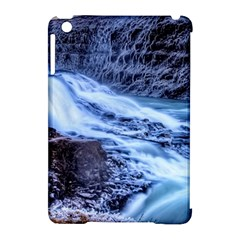 Gullfoss Waterfalls 1 Apple Ipad Mini Hardshell Case (compatible With Smart Cover) by trendistuff