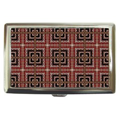 Check Ornate Pattern Cigarette Money Cases by dflcprints